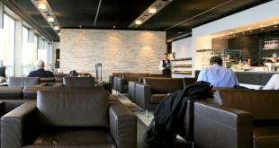 Coctailbar in der Swiss First Class Lounge am Flughafen Zürich Foto: nekedsky