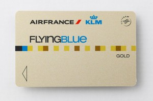 Flying Blue Gold Karte