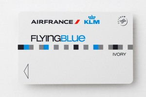 Flying Blue Ivory Karte