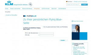 Flying Blue Login