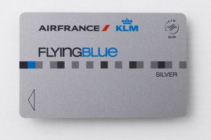Flying Blue Silver Karte