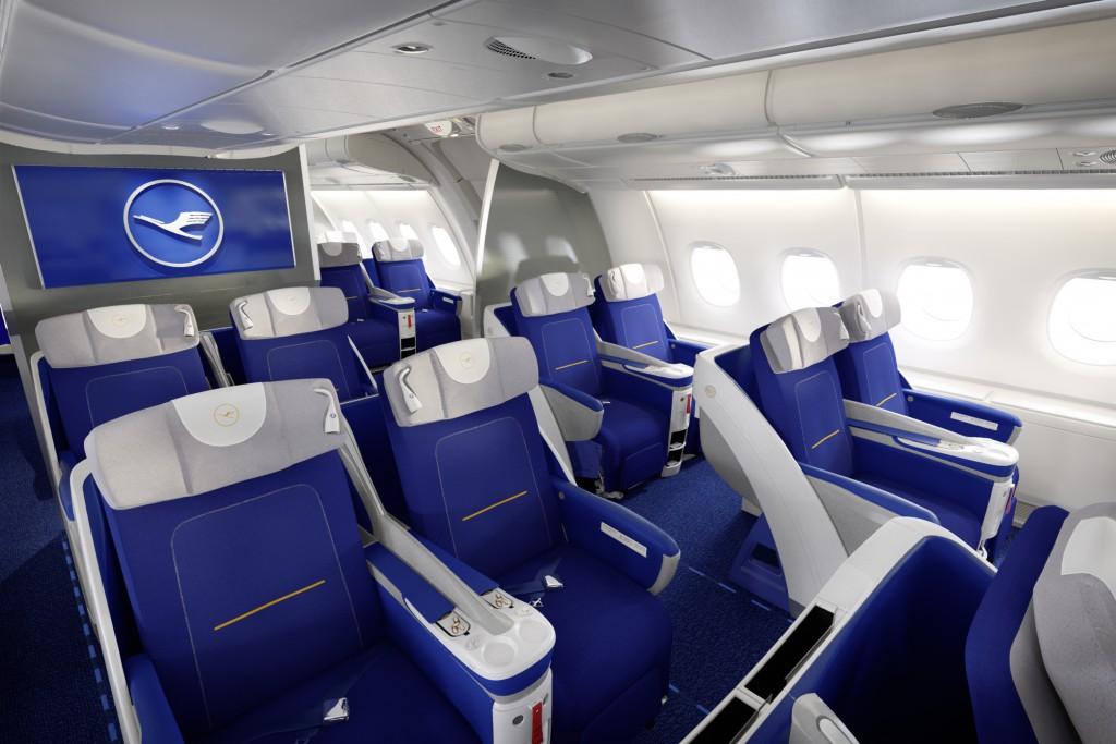 Lufthansa A380 Business Class