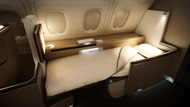 lufthansa a380 business class und first class. Black Bedroom Furniture Sets. Home Design Ideas