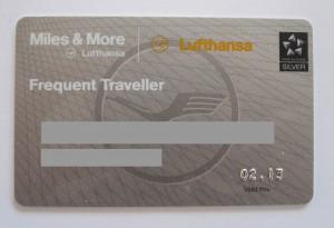 Lufthansa Frequent Traveller Card
