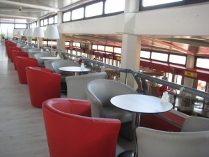 air berlin exklusiver Wartebereich Berlin-Tegel, air berlin Lounge