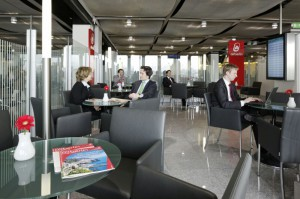air berlin exklusiver Wartebereich Düsseldorf, air berlin Lounge