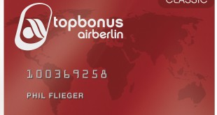 air berlin topbonus classic card