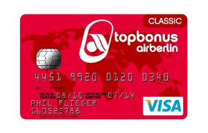 air berlin visa classic card
