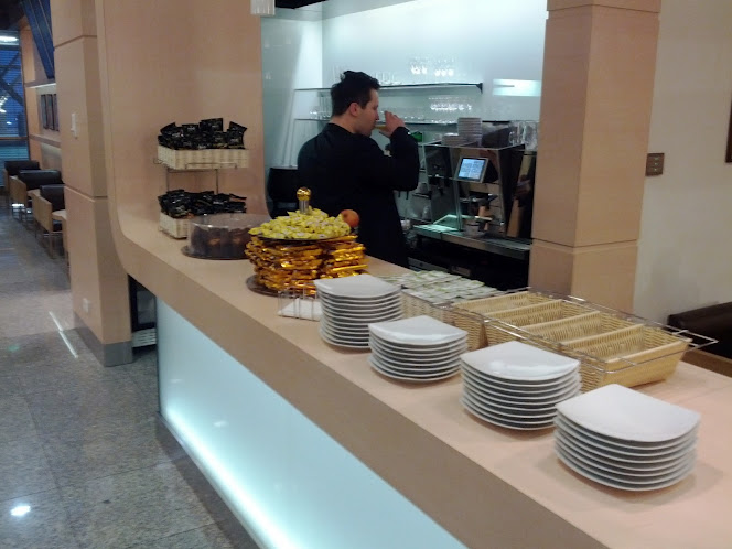 LOT Polish Airlines Business Lounge