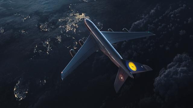 Meilen sammeln in der Lufthansa A380