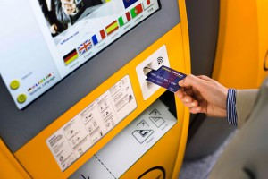 Lufthansa Miles & More Automat