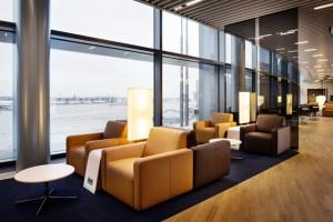 Neue Senator Lounge am Flugsteig A-Plus / Quelle: Lufthansa