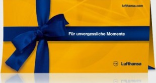 Lufthansa 15 € Gutschein Quelle: Lufthansa