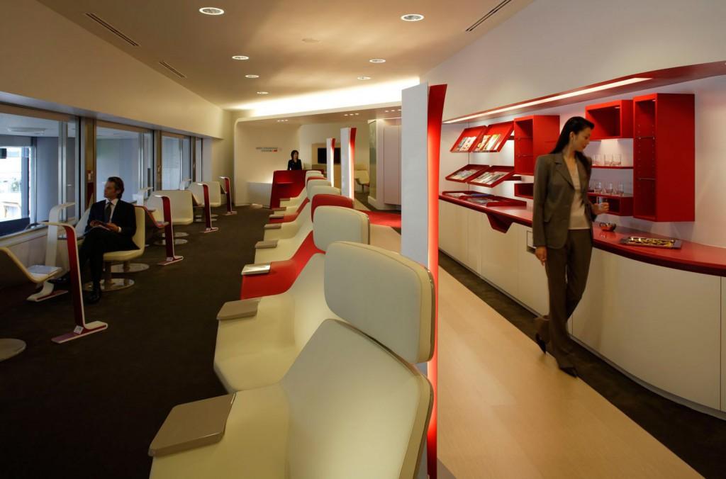 SkyTeam Lounge am Narita International Airport Tokio Foto: SkyTeam