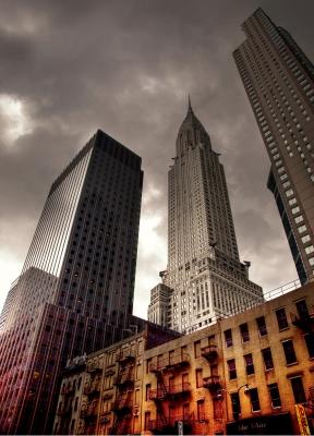 Crysler Building New YorkLufthansa Nordamerika- Special