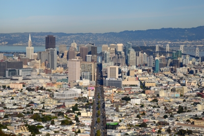 Mit dem Nordamerika-Special der Lufthansa nach San-Francisco