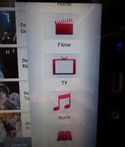 Touchscreen mit Entertainment-AngebotFoto: vielflieger-lounges
