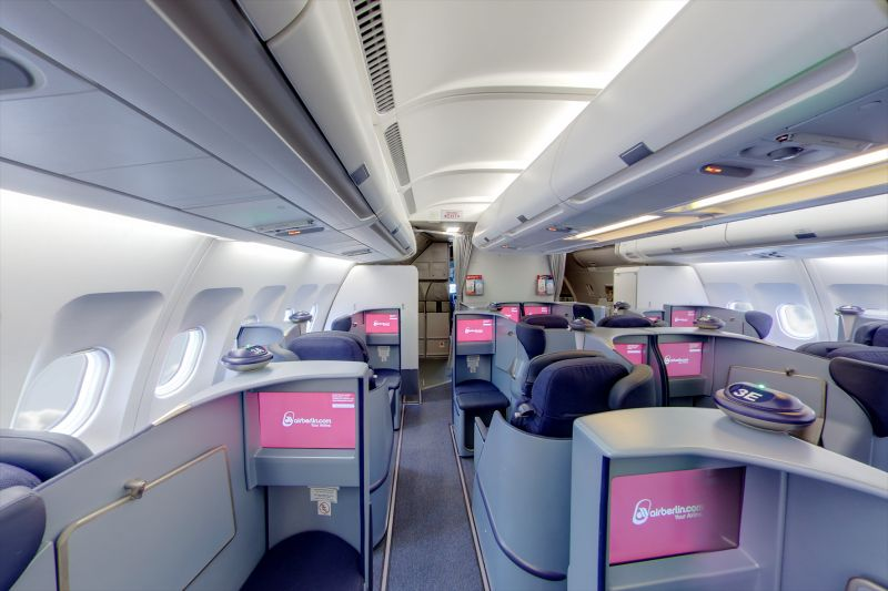 Neue airberlin Business Class