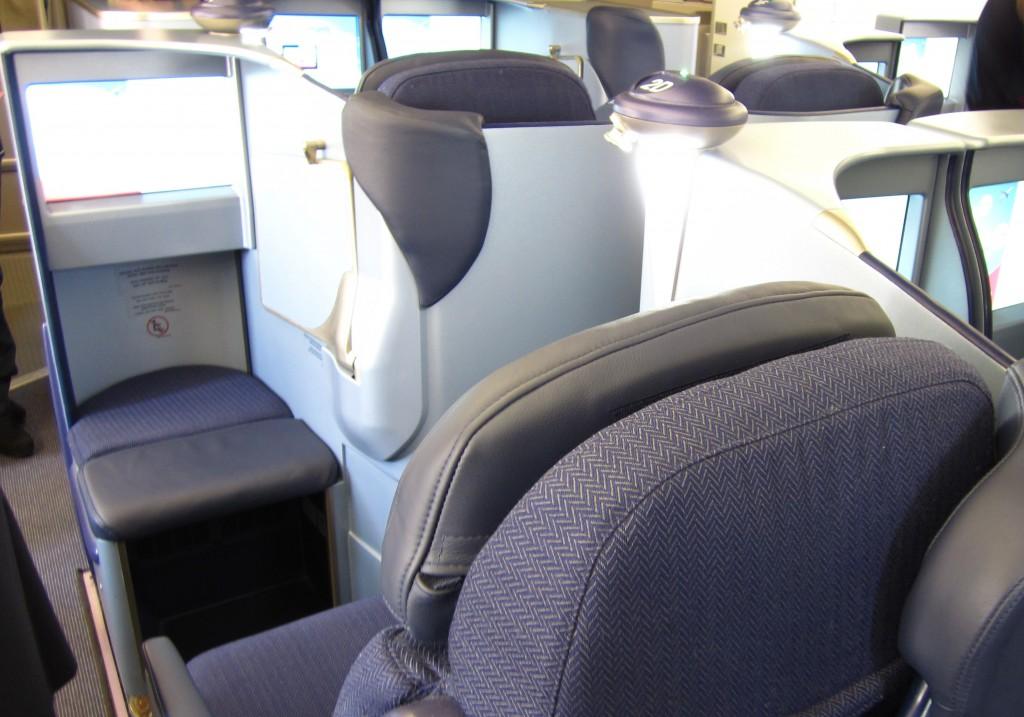 neuer Sitz in der Business ClassFoto: vielflieger-lounges