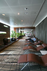 Free Rest AreaQuelle: Changi Airport Singapore