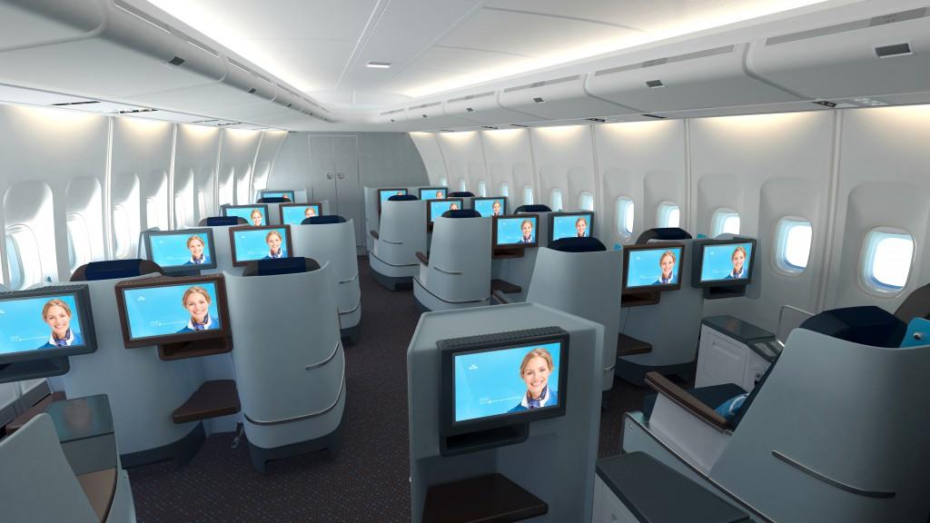 Neue KLM Business ClassQuelle: KLM