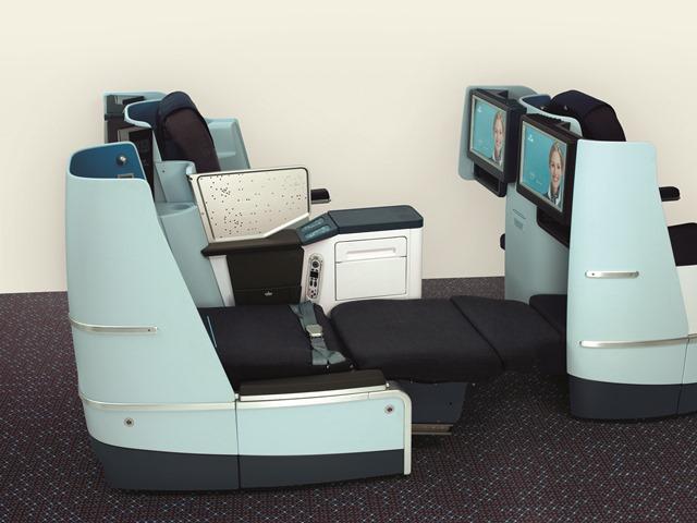 Neuer Full Flat SitzQuelle: KLM