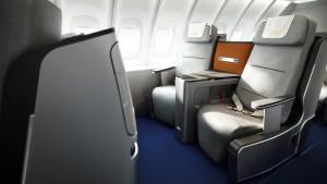 Ungünstige V-Position Foto: Lufthansa