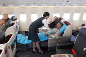 Business Class der Turkish AirlinesQuelle: Turkish Airlines