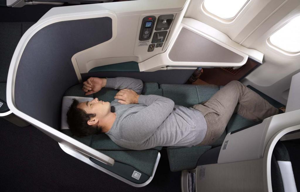 Cathay Pacific Business Class Sitz von Sicma Zodiac Cirrus Foto: Cathay Pacific