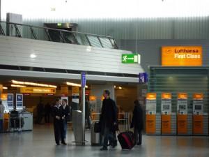 Lufthansa First Class Check-In in FrankfurtQuelle: NewbieRunner