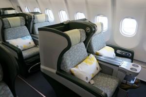 Business Class Sitze EVA AirQuelle: Luke-Lai