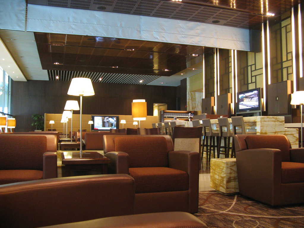 Singapore Airlines First Class lounge Terminal 3, Changi Airport Foto: Blackwych