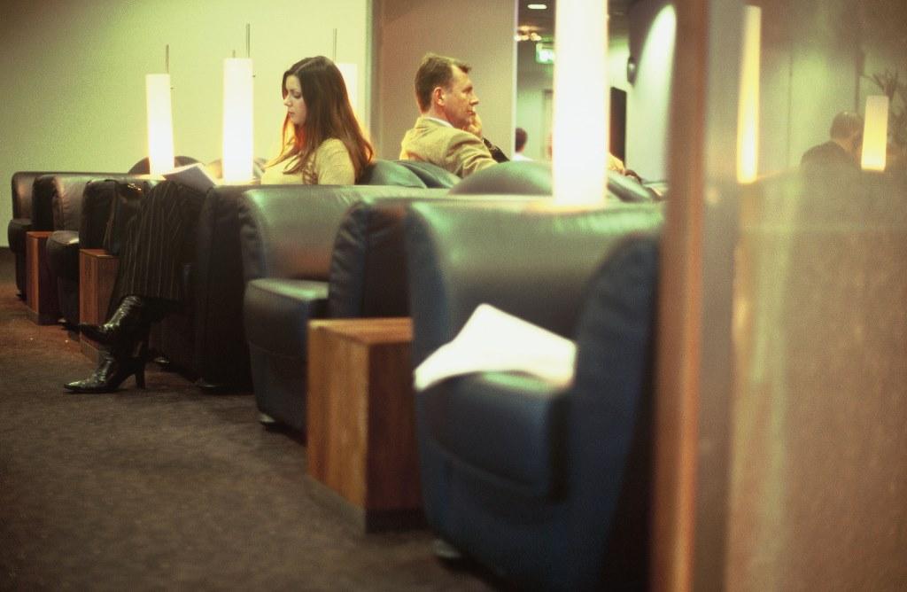 Senator Lounge Terminal 2 München Foto: Lufthansa