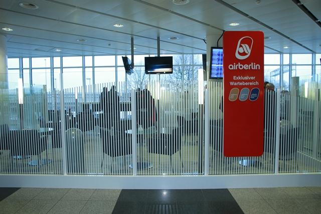 MUC- exklusiver Waretebereich Foto: Airberlin