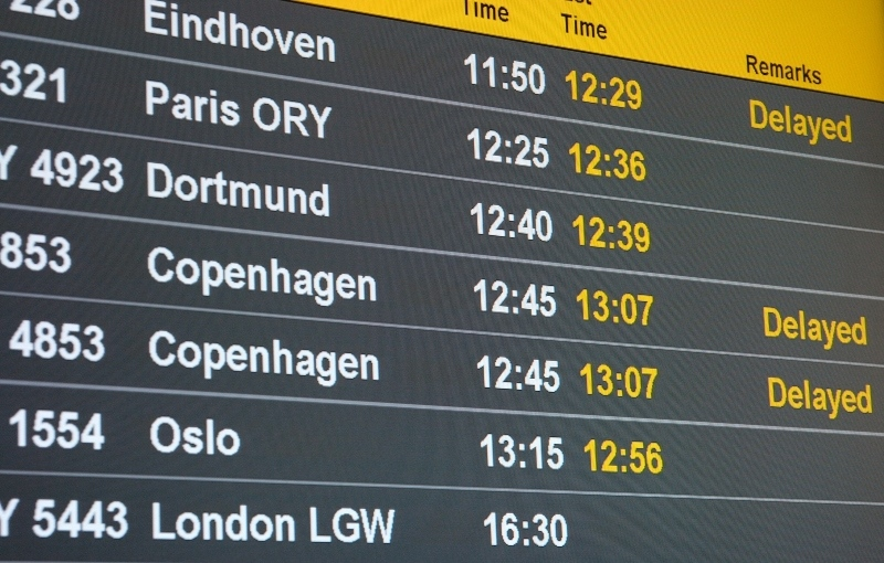 Fluggastrechte z.B. bei Verspätungen