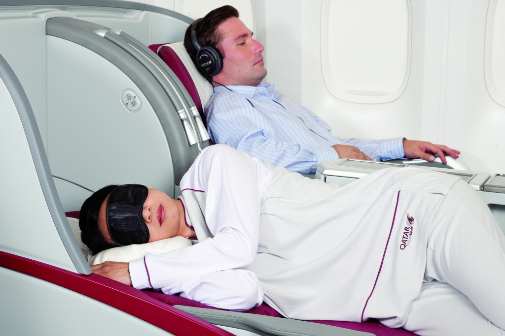Qatar Airways Business Class Foto: oneworld Marketing