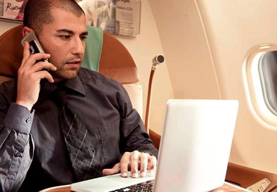 WiFi an Bord der Oman Air Foto: Oman Air