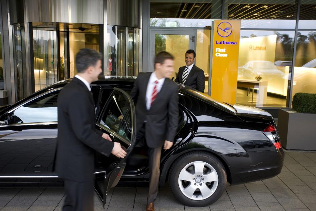 Lufthansa Limousinenservice. Foto: Lufthansa