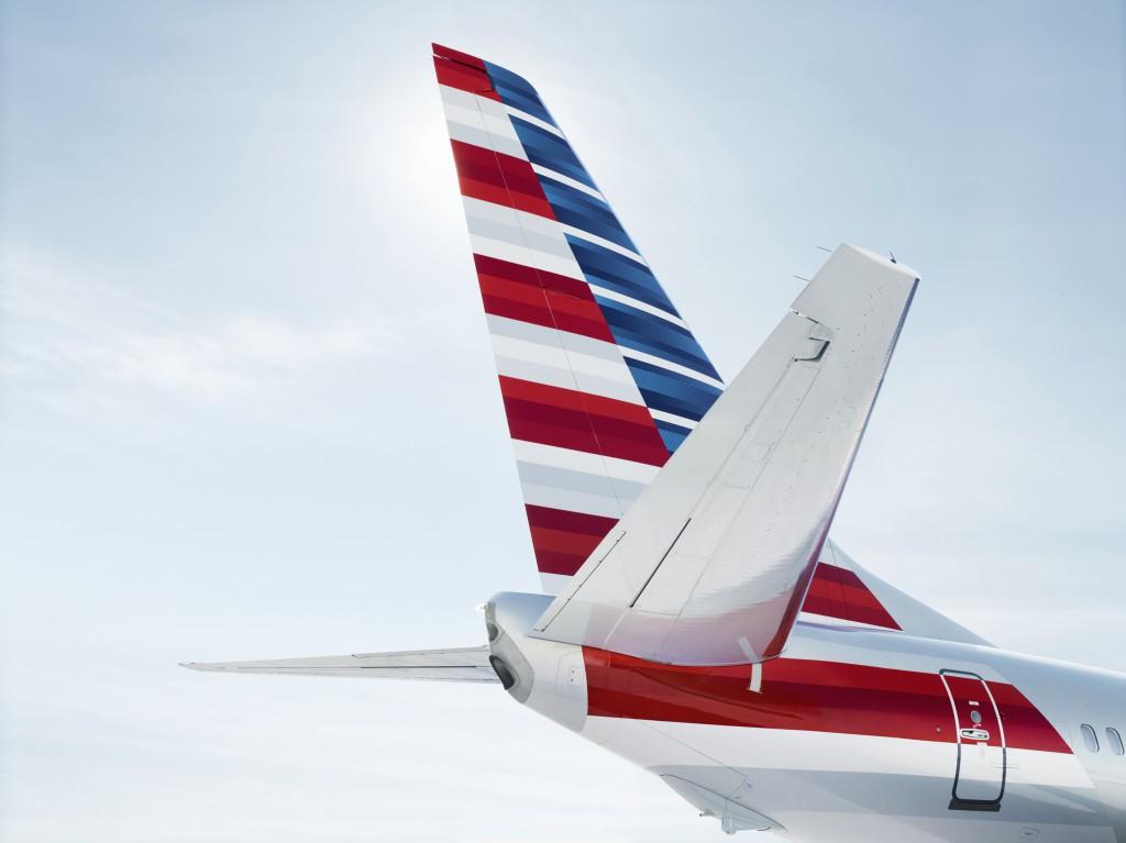 Neues Branding der American Airlines AA Foto: oneworld