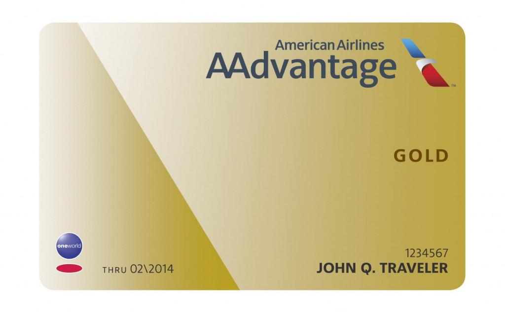 AAdvantage Goldkarte Foto: oneworld