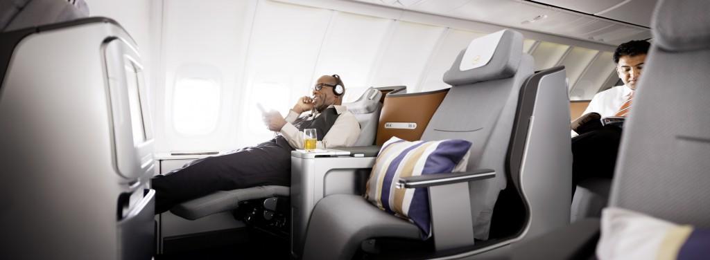 Die neue Interkontinental Business Class der Lufthansa Foto: Lufthansa