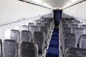 Lufthansa Economy Class Europakabine Foto: Lufthansa