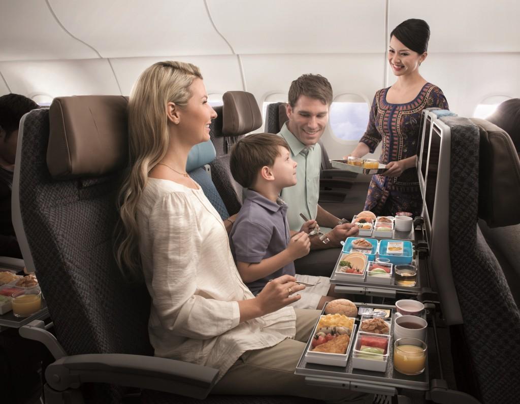 Der neue Economy Sitz der SIA Foto: Singapore Airlines