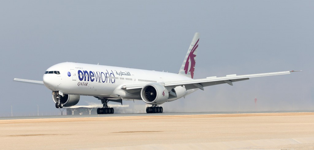 Qatar Airways Mitglied in der oneworld Allianz