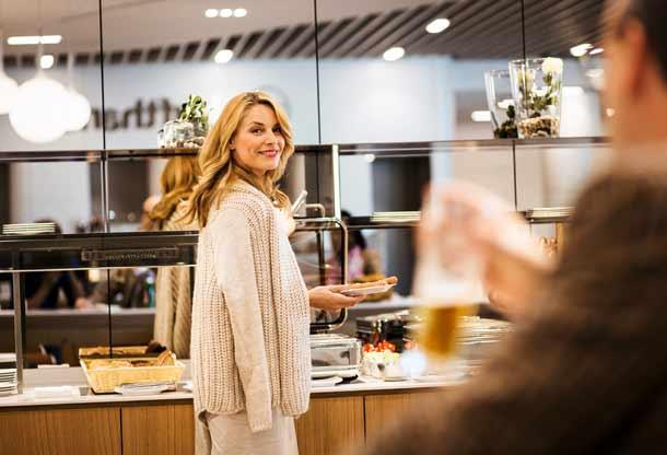 Neue Premium Lounge in Newark eröffent Foto: Lufthansa