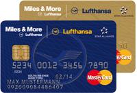 Miles & More Kreditkarten Quelle: Lufthansa