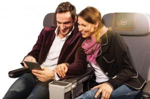 Die neue Premium Economy Class Foto: Lufthansa