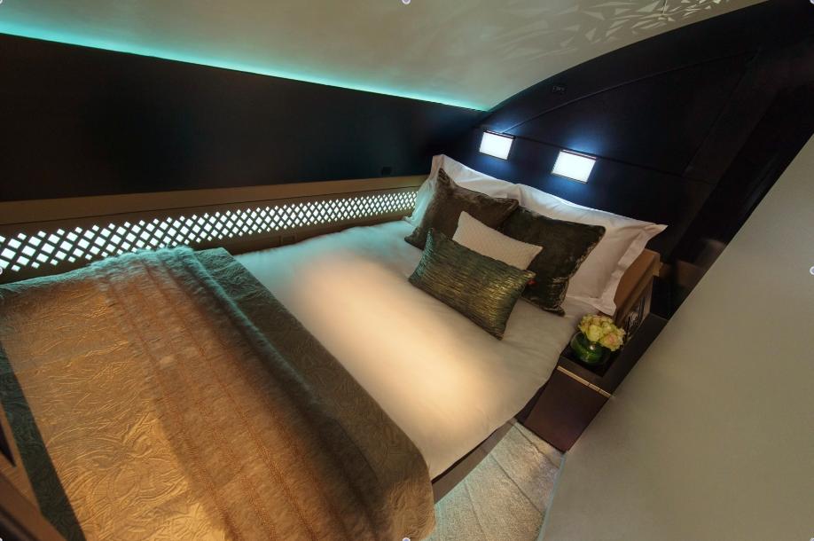 """Das Residence Bett"" Foto: Etihad"