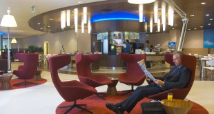 KLM Crown Lounge am Amsterdam Schiphol Airport Foto: KLM