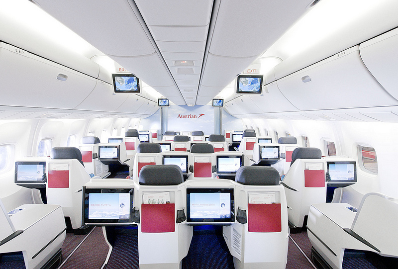 Neue Langstrecken-Kabine / New Long-Haul CabinFoto: Austrian Airlines Group - Claudio Farkasch